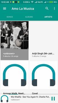 Go Music Player 2017 screenshot 1