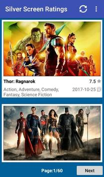 Silver Screen Ratings poster