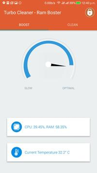 Turbo Cleaner -Applock&booster apk screenshot