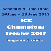 Champions Trophy 2017 Schedule icon
