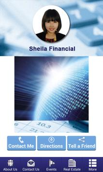 Sheila Financial poster