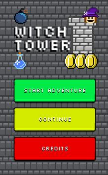 Witch Tower a free witch game poster