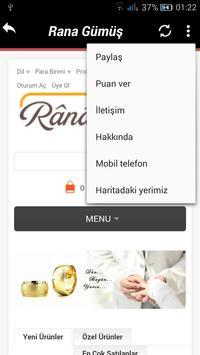 Rana Gümüş Ticaret screenshot 1