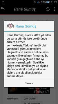 Rana Gümüş Ticaret screenshot 2