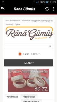 Rana Gümüş Ticaret screenshot 4