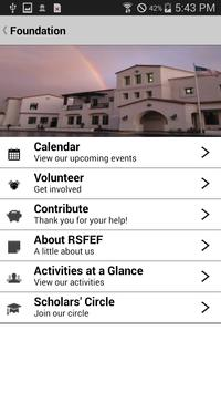 RSF School apk screenshot