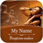 My GF Caller Name Ringtone Maker icon