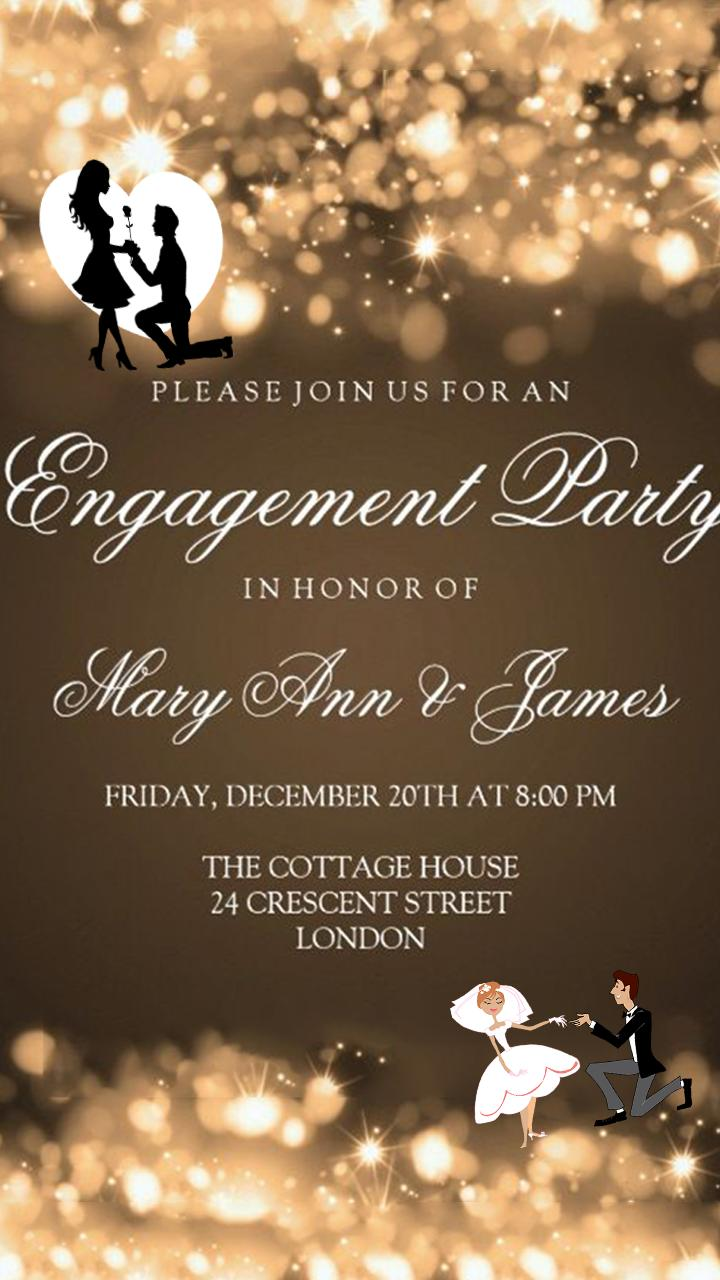 Engagement Invitation Card Maker For Android