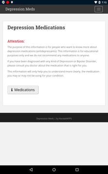 Depression Meds apk screenshot