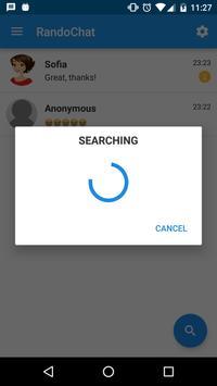 RandoChat - Chat roulette скриншот приложения