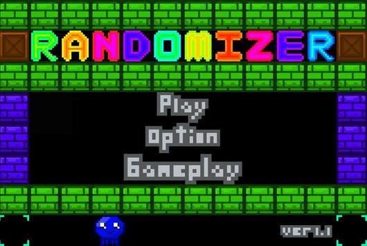 Randomizer Pixel poster