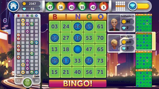 Bingo Online screenshot 1