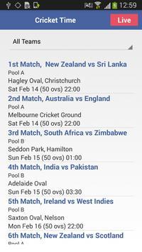 Cricket Time apk screenshot