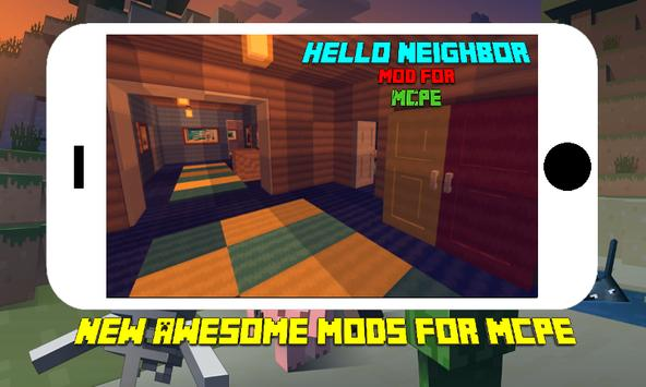 Terrible Neighbor Mod for MCPE poster