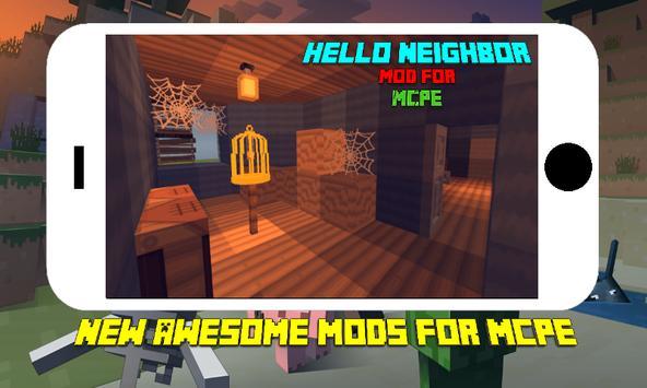 Terrible Neighbor Mod for MCPE screenshot 1