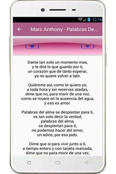 Marc Anthony Song screenshot 1