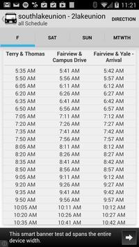 YourBus Seattle Streetcar screenshot 2