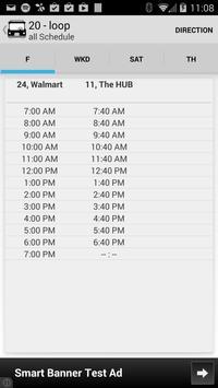 YourBus Radford Transit screenshot 2