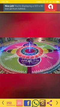 Diwali Rangoli Designs apk screenshot