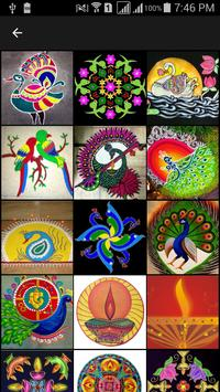 Latest Rangoli Design 2016 poster