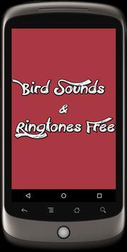 Bird Sounds & Ringtones Free poster