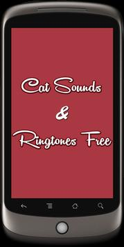 Cat Sounds & Ringtones Free poster