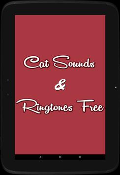 Cat Sounds & Ringtones Free apk screenshot