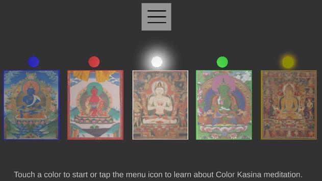 VR Color Kasina Meditation poster