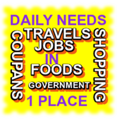DAILY NEEDS IN 1 PLACE icon