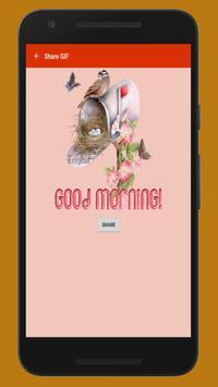 Good Morning GIF (Image & Status) apk screenshot