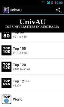 UnivAU: Australia Top Colleges screenshot 1