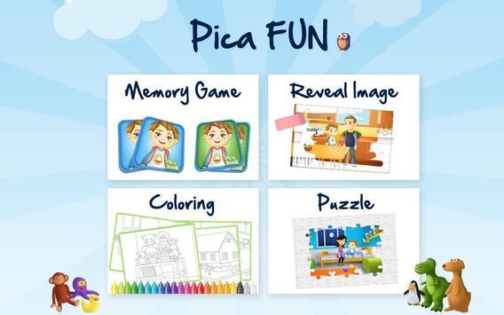 Pica Sharing Book for Kids apk screenshot