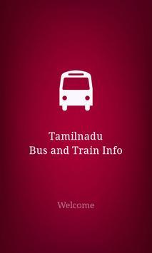 TN Bus & Train Info poster