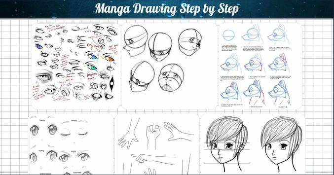 تعلم رسم الانمي خطوة بخطوة بدون نت poster