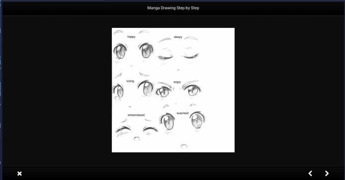 تعلم رسم الانمي خطوة بخطوة بدون نت apk screenshot
