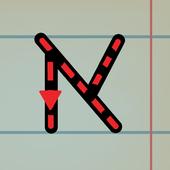 אותיות ומספרים - לימוד כתיבה icon
