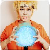 Photo Editor: secret jutsu rasengan power icon