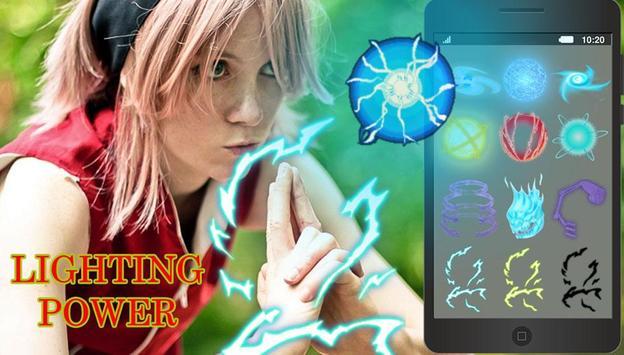 Photo Editor: secret jutsu rasengan power screenshot 1