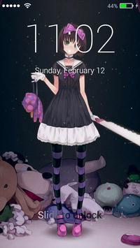 Anime Lock Screen HD Girls poster