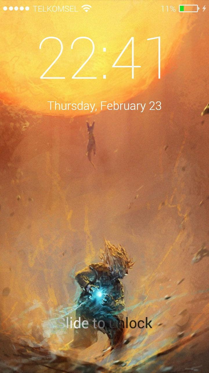 Lock Screen For Dragon Ball Z For Android Apk Download