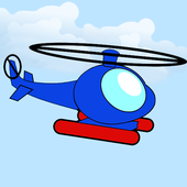 Crazy City Copter icon