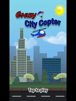 Crazy City Copter apk screenshot