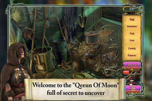 Hidden Object Angelica Amber Queen of Moon poster