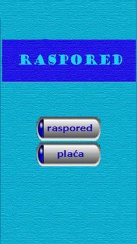 Raspored CC screenshot 1