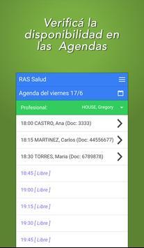 RAS Salud para Recepcionistas apk screenshot