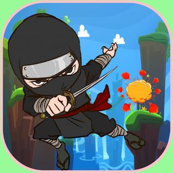 Extreme Ninja Hero Runner poster