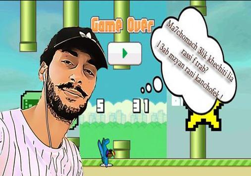 Flappy Scream Hamada Go Game screenshot 1