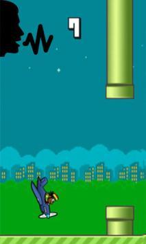 Flappy Scream Hamada Go Game screenshot 2