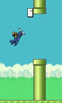 Flappy Scream Hamada Go Game screenshot 3