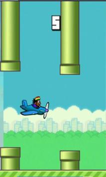 Flappy Scream Hamada Go Game screenshot 4